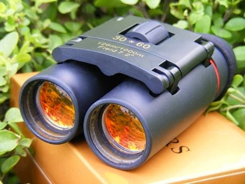Day and Night vision Binocular with layered orange Lens