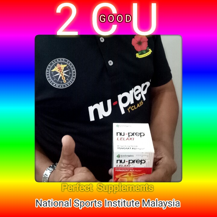 Nu-Prep, Perfect Supplement. MALAYSIA JUARA.