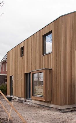 houtskeletbouw woning architect