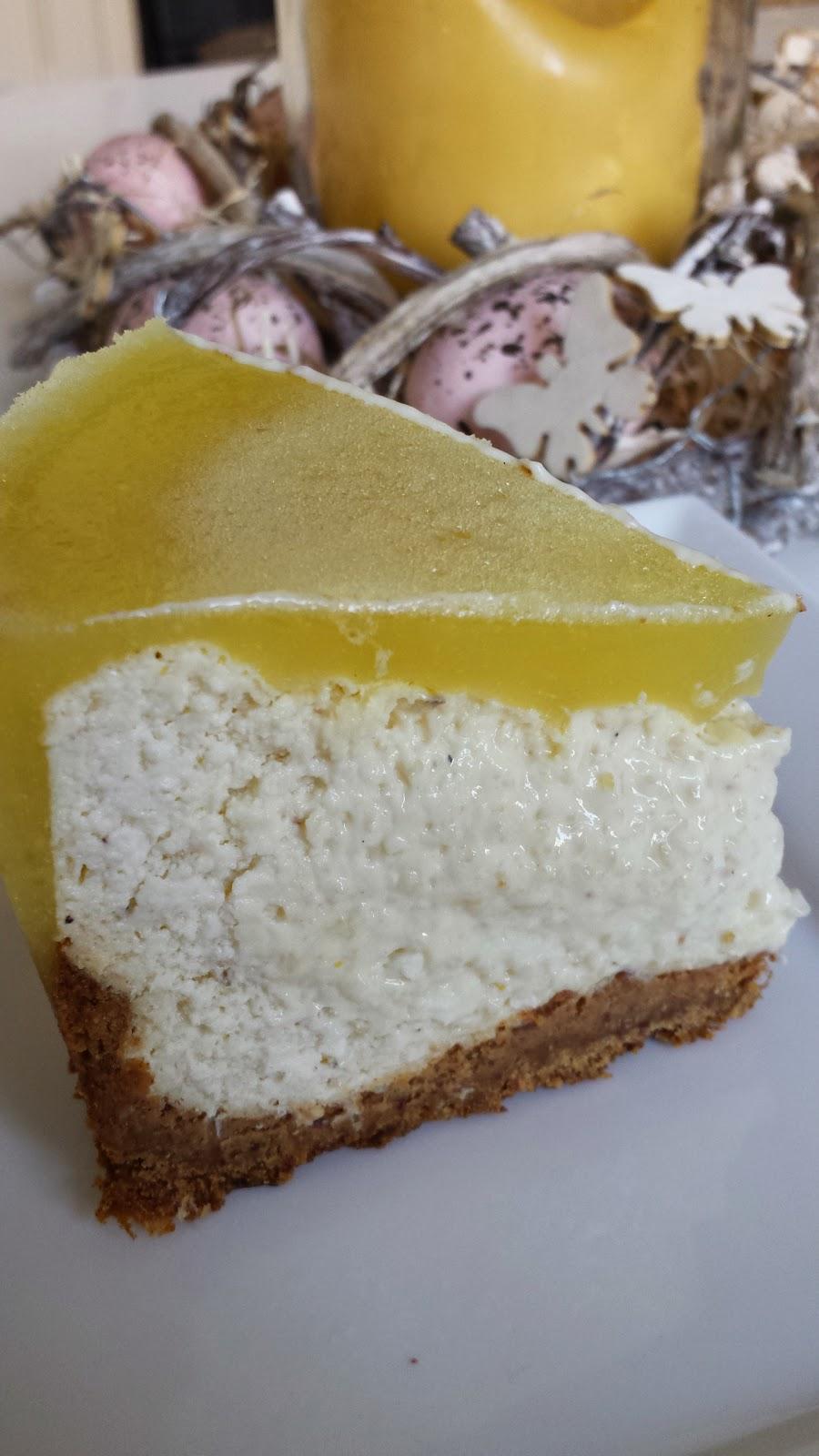 Healthilicious Lemon Protein Cheesecake