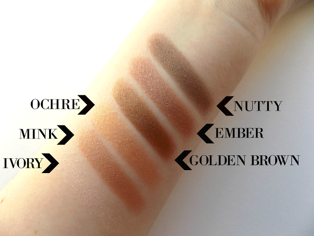 Collection Eyes Uncovered Nude Bronze palette review & swatches