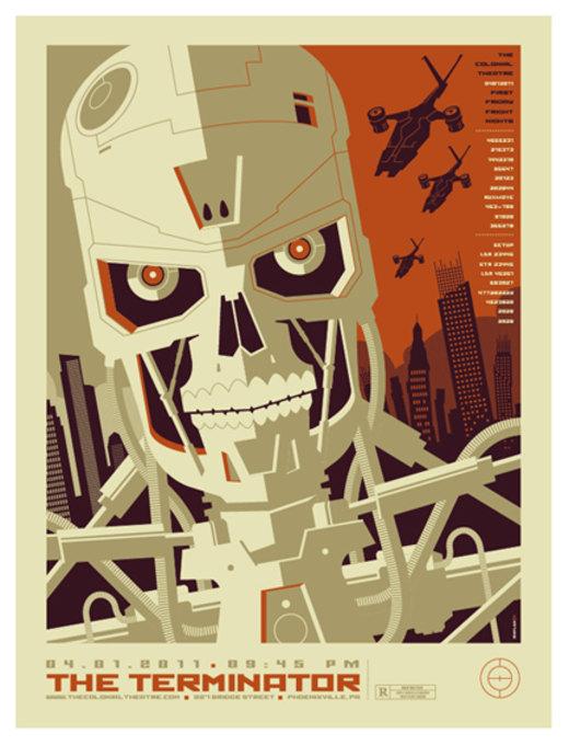 terminator poster por strongstuff