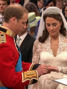 Royal Wedding: Prince William Arthur Philip Louis married with Catherine Elizabeth Middleton, Duchess of Cambridge, on 29 April 2011 at Westminster Abbey.