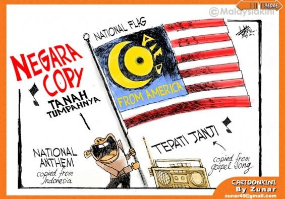 Kartunis Malaysia Hina Negara Sendiri