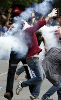 Turkish protesters 2013
