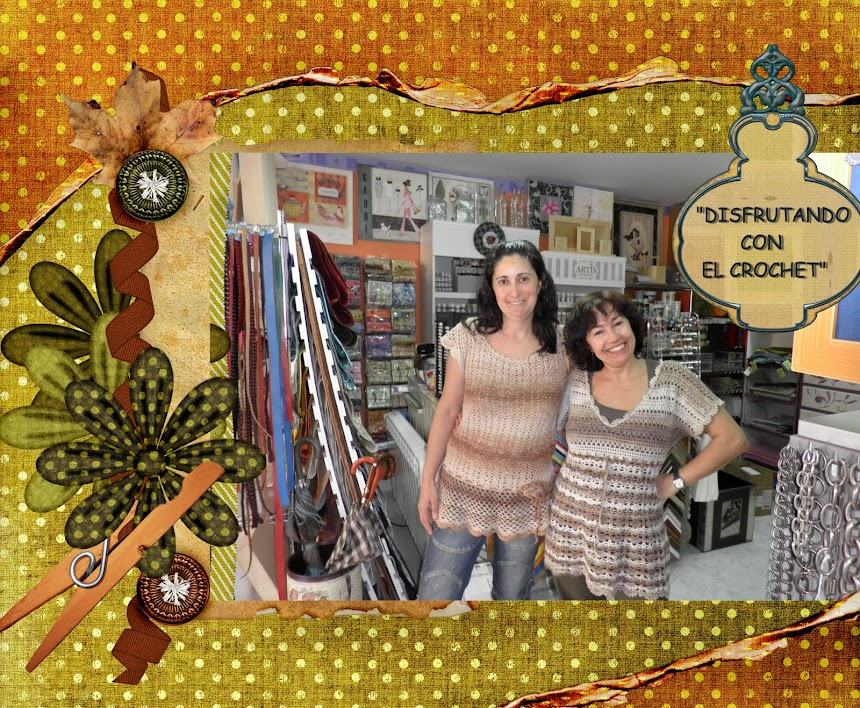 """Disfrutando con el crochet"" Mari Carmen"