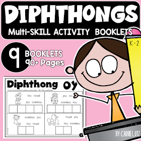 Diphthongs Multi-Skill Activity Booklets