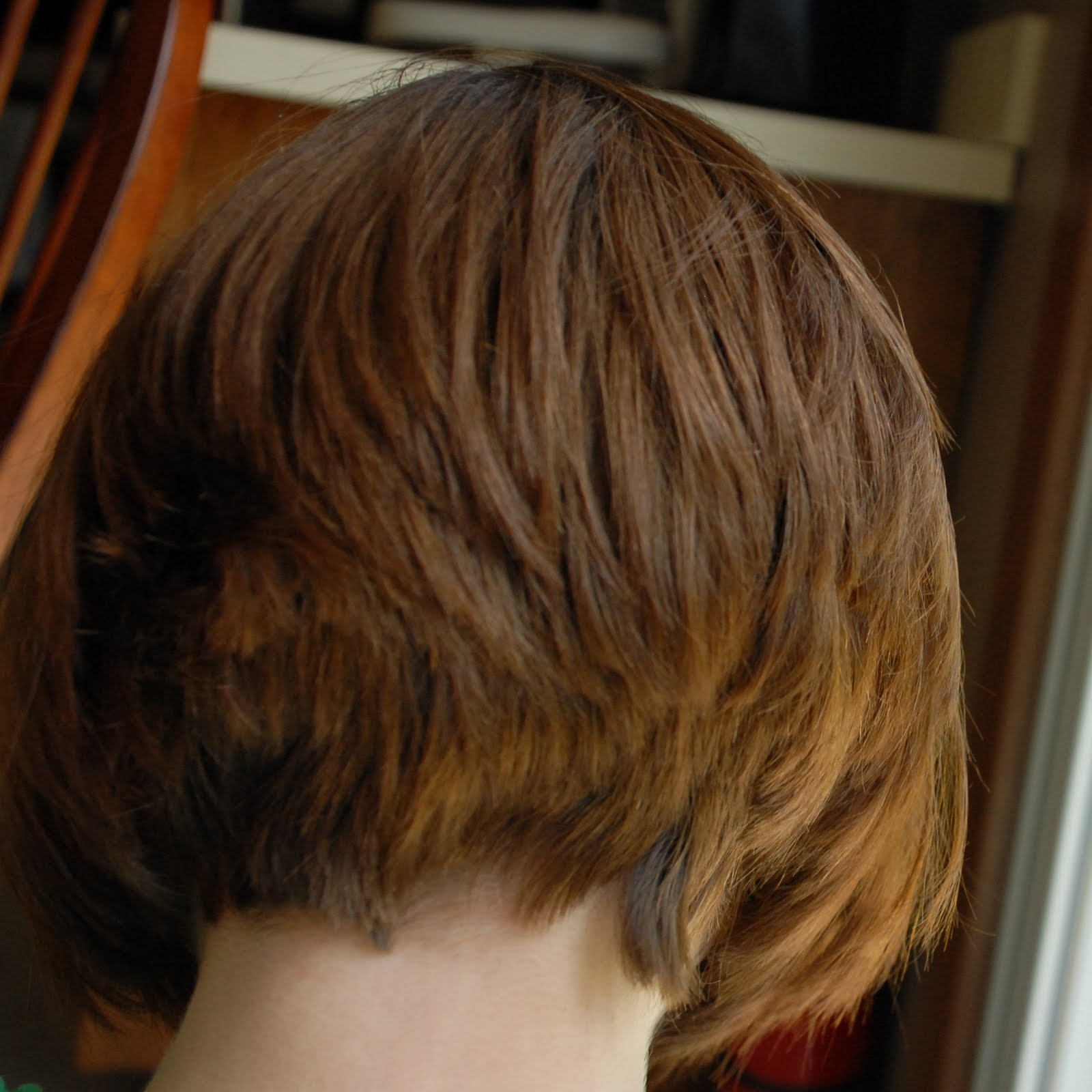 Short Hairstyle With Back View