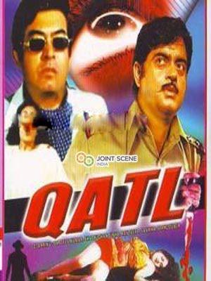 Qatl (1986) Movie Poster