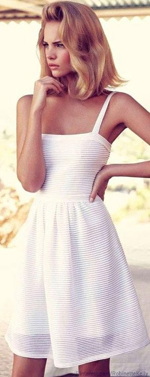 Christian Dior White Summer Dress