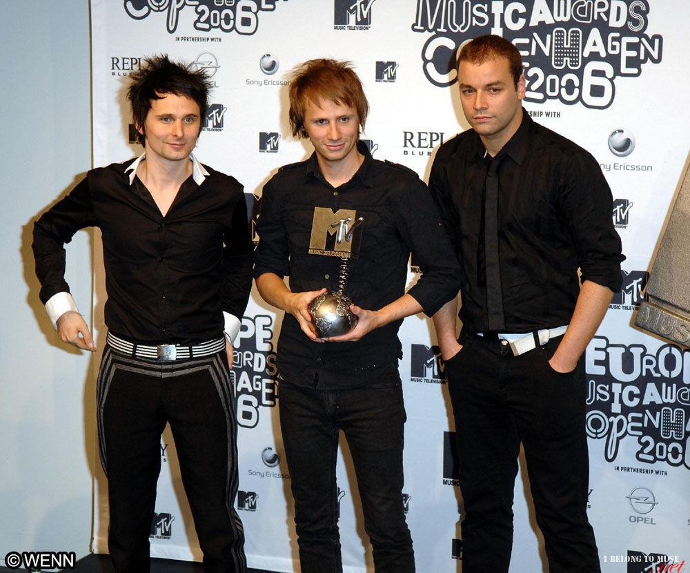 muse au mtv europe music awards