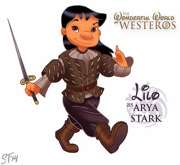 Princesas Disney como Game of Thrones