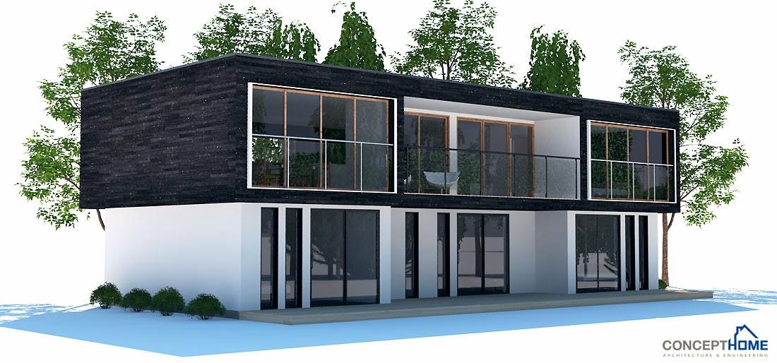 Plantas de casas modernas planta de casa moderna ch195 for Jazzghost casas modernas 9