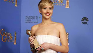 "Best Supporting Actress: Jennifer Lawrence, ""American Hustle."""