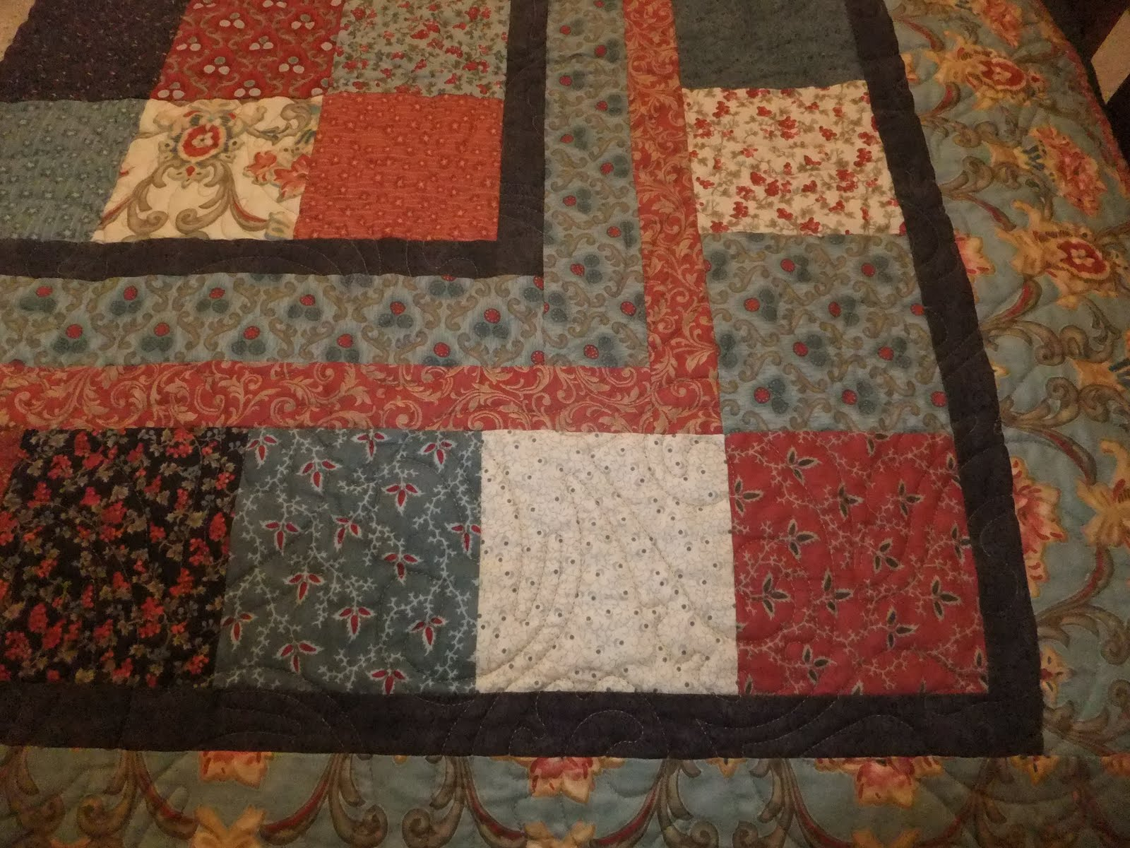 Layer Cake Quilt Top : Show and Tell: