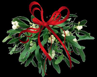 mistletoe+leaves 7 Tradisi Tahun Baru nan Unik