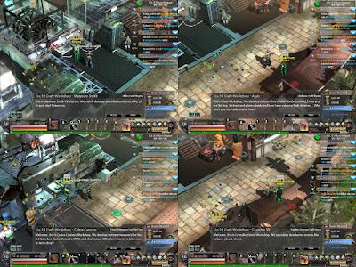 Metal Reaper Online - Crafting NPCs