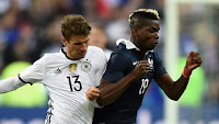 Prancis vs Jerman 2-0 Video Gol & Highlights