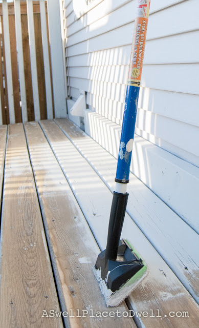 Deck Staining Pad
