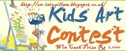 Kids Drawing Contest - Win Cash prizes