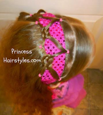 pretzel knot headband hairstyle