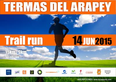 14k y 9k Termas del Arapey (trail run, Salto, 14/jun/2015)