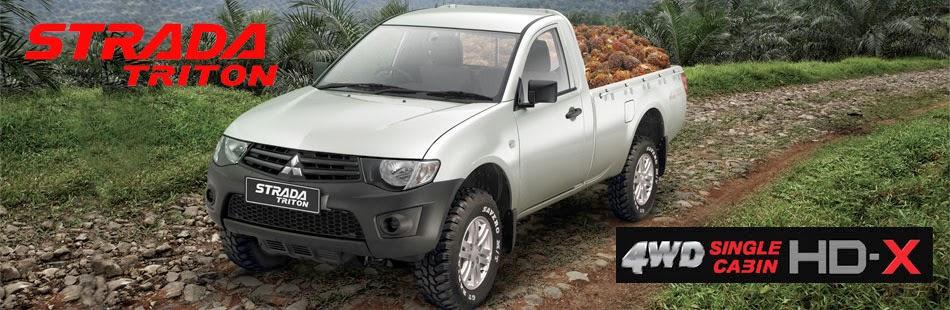Strada Triton Single Cabin HD X 4x4 Jambi