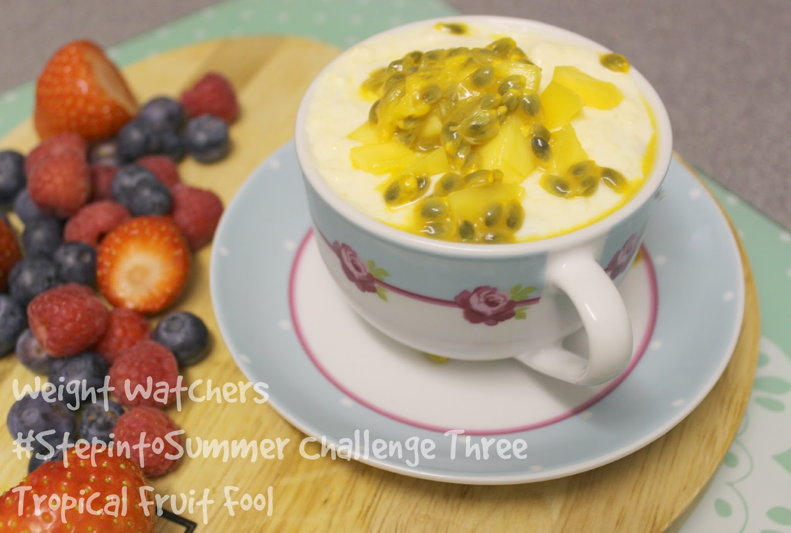 Weight Watchers Simple Start Tropical Fruit Fool