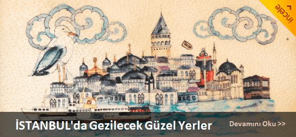 İstanbulda gezilecek yerlerin listesi