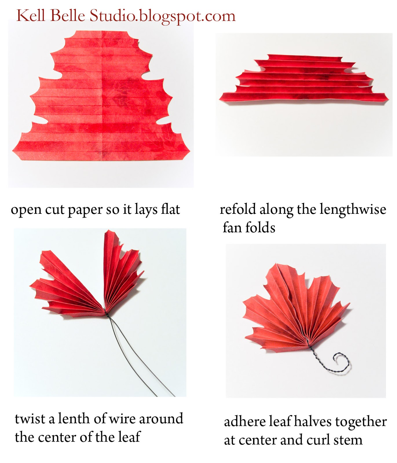 How To Make Origami Maple Leaf