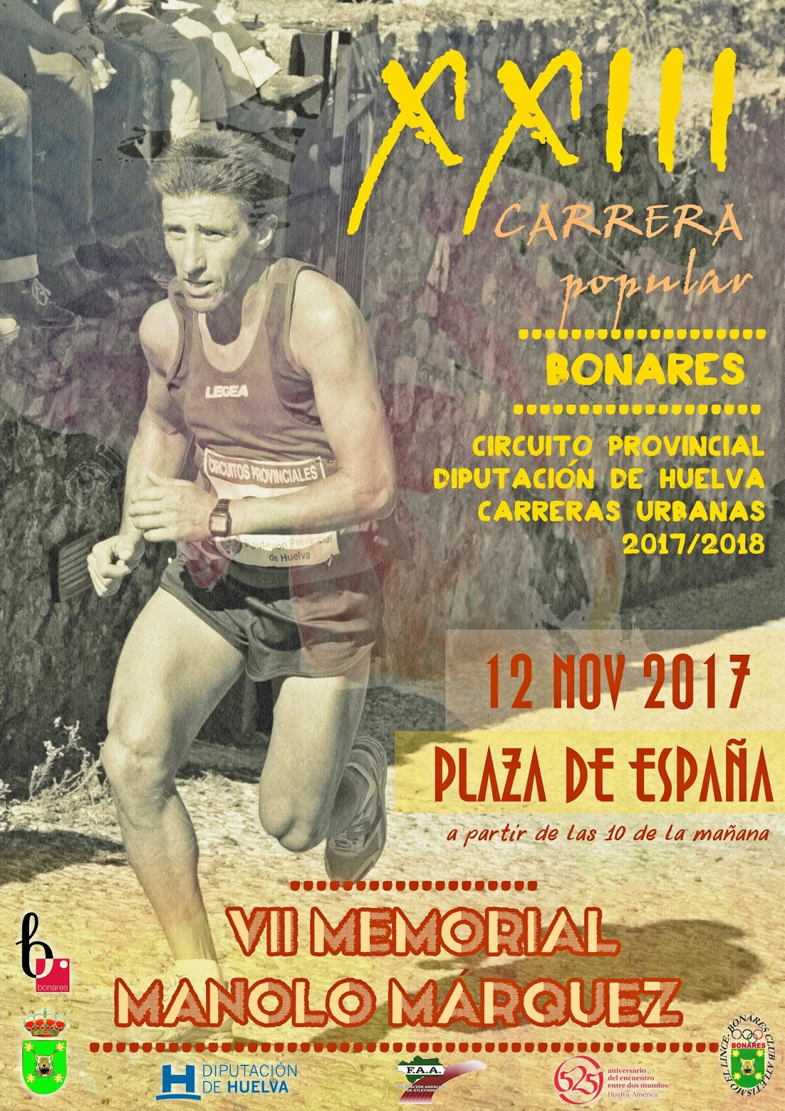 "XXIII CARRERA POPULAR DE BONARES ""VII MEMORIAL MANOLO MÁRQUEZ"""