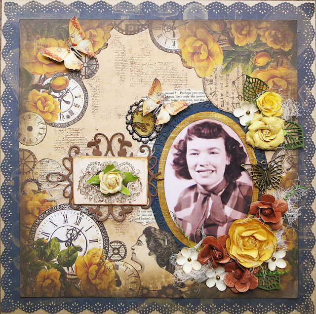 Marion Smith Designs Time Keeper collection Heritage Layout