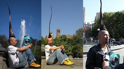 Pria Dengan Rambut Mohawk Terpanjang di Dunia