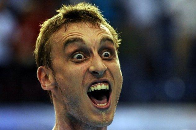 Aneka ekspresi lucu para atlet (part two)