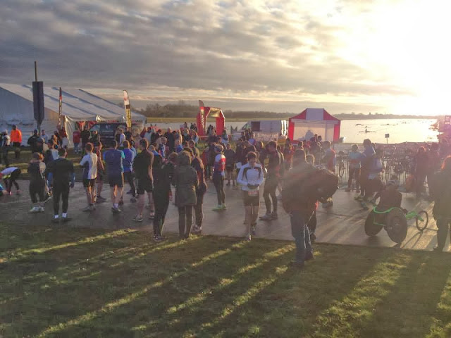 Maxifuel Winter Duathlon, Dorney Lake, F3 Events