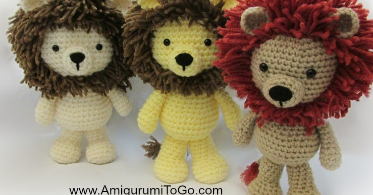 Amigurumi Bigfoot Panda : Little Bigfoot Lion 2014 ~ Amigurumi To Go