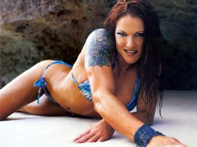 WWE Diva Amy Dumas Hot Wallpaper