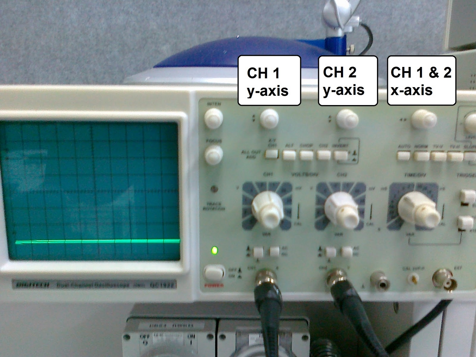 Oscilloscope Y Axis : Kit autotronic oscilloscope