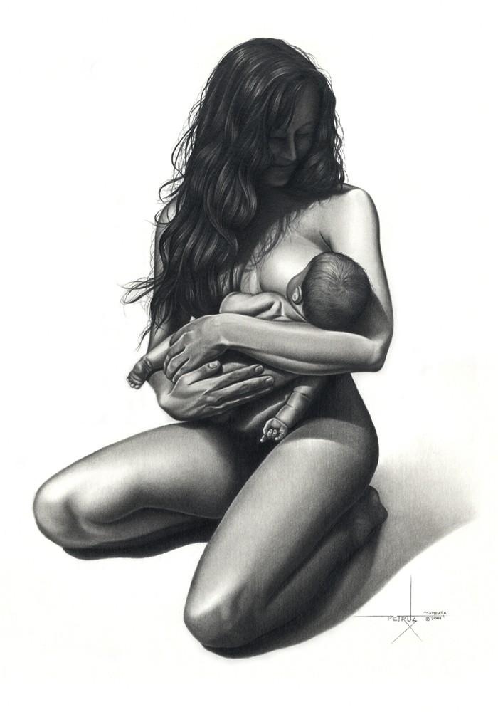 девушки картинки черно белые голые