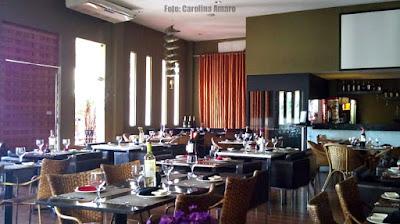 Restaurante Takê: Ambiente interno