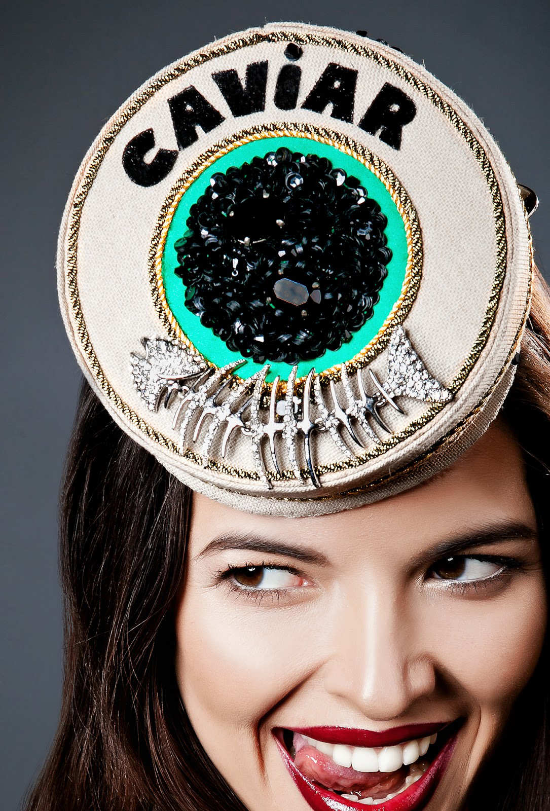 via fashioned by love | Anya Caliendo | Couture Millinery | Caviar