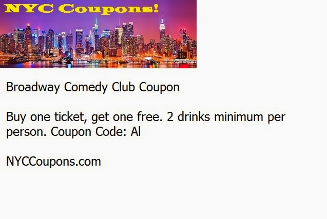 Sak comedy club coupons