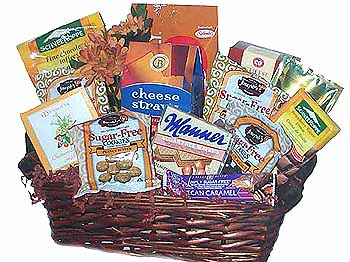 A basket wrap sugar free gift baskets did you know that october is national diabetics month according to the us dept of health human services diabetes affects 258 negle Choice Image