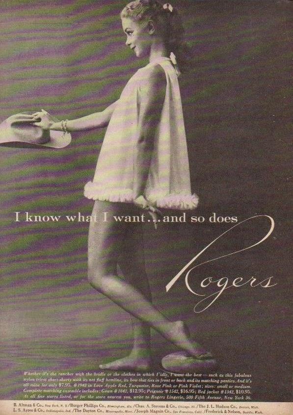 Vintage Lingerie Advertisements 17