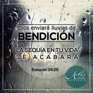 DIOS ENVIARA LLUVIAS DE BENDICIÓN IMÁGENES CRISTIANAS