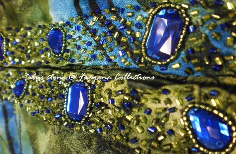 Sulaman Manik & Labuci d'Faryana Collections©: Manik Tabur Stone