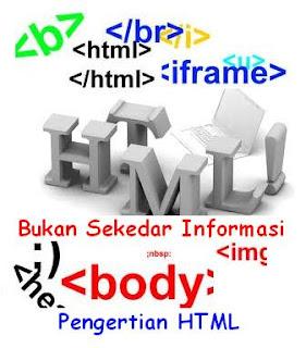 pengertian html, html, apasih html itu, belajar html