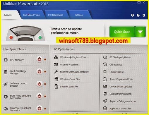 Download Free Uniblue Powersuite 4.3.1 Full Serial Number - monitoring ...