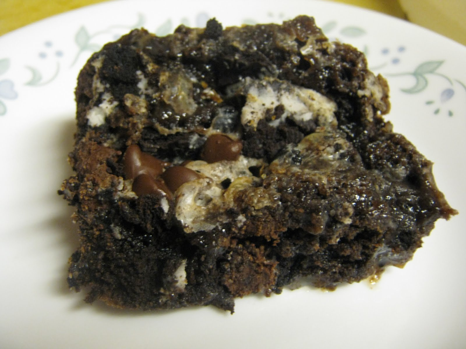 ... and Such: Decisions and Cookies n' Cream Double Chocolate Cake Bars