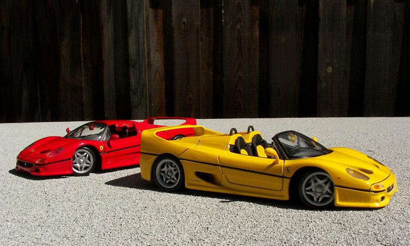 California Streets: Collector's Corner - Maisto Ferrari F50 ...
